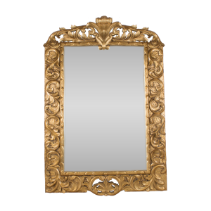 Gold Beaded Mirror