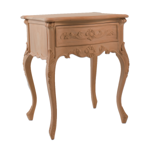 French 1 Drawer Bedside