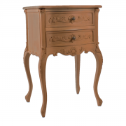 French 2 Drawer Bedside