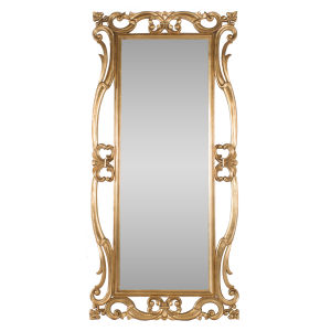Antique Dressing Mirror Gold