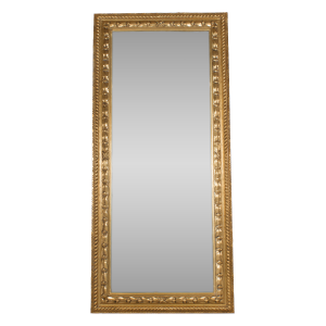 Tall Antique Mirror Gold