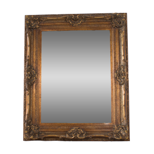 Antique Gold Swept Mirror