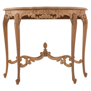 French Carved Console Table