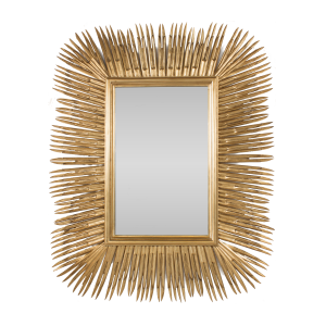 Gold Spike Mirror