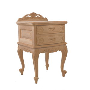 Louis 2 Drawer Bedside