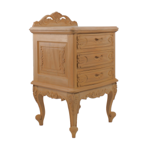 Louis 3 Drawer Bedside