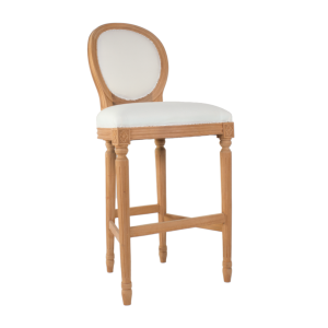 Louis Oval Bar Stool
