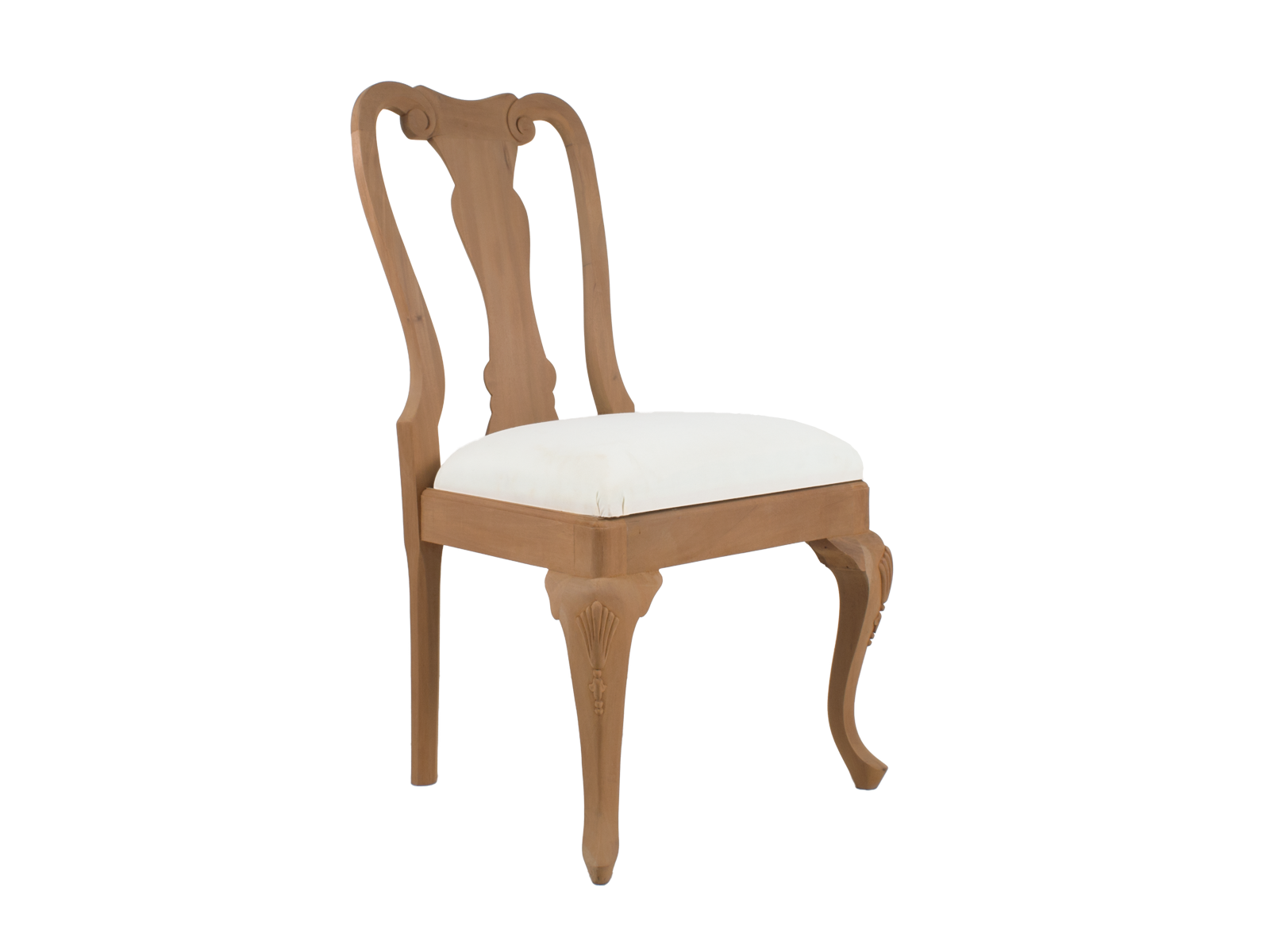 Queen anne dining chair hidden mill for Dining room chairs queen anne