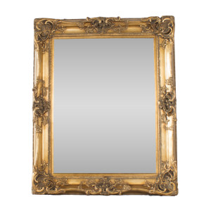 Swept Gold Mirror