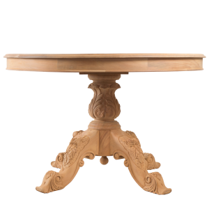 Victorian Carved Round Dining Table