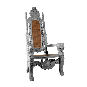 Lion Throne Silver