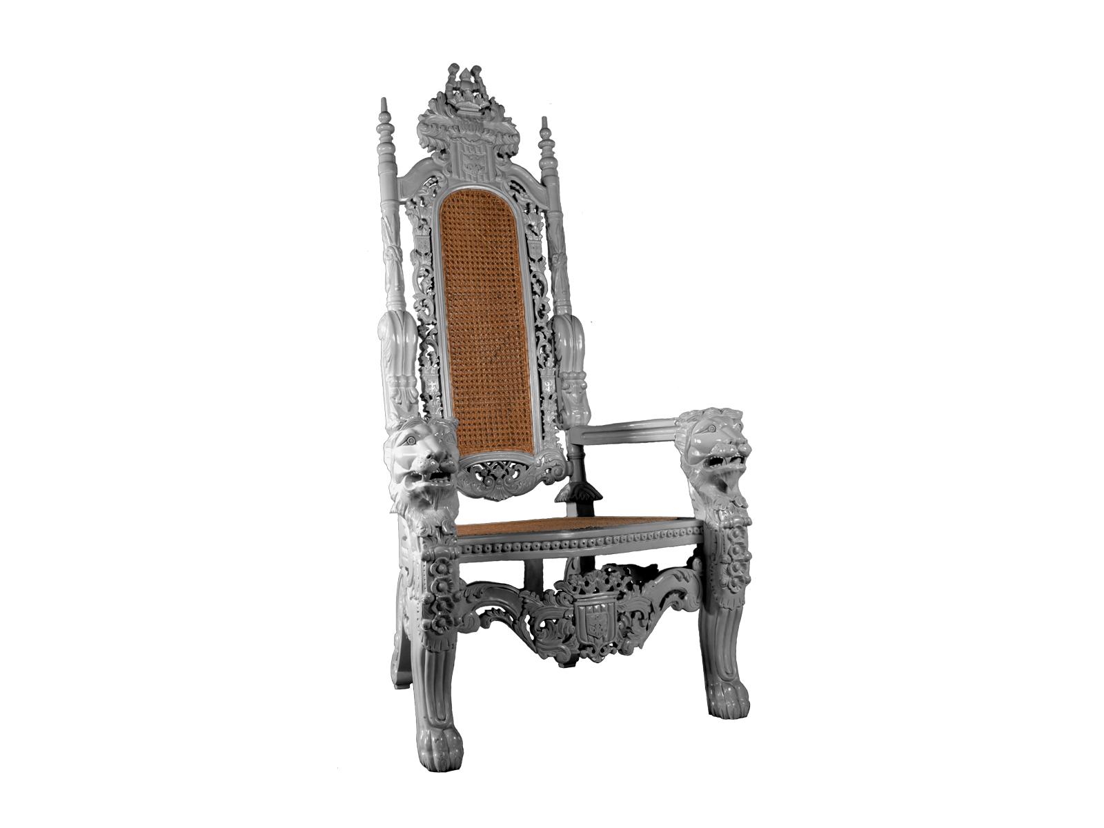 Lion Throne Silver