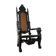 Lion Throne Black