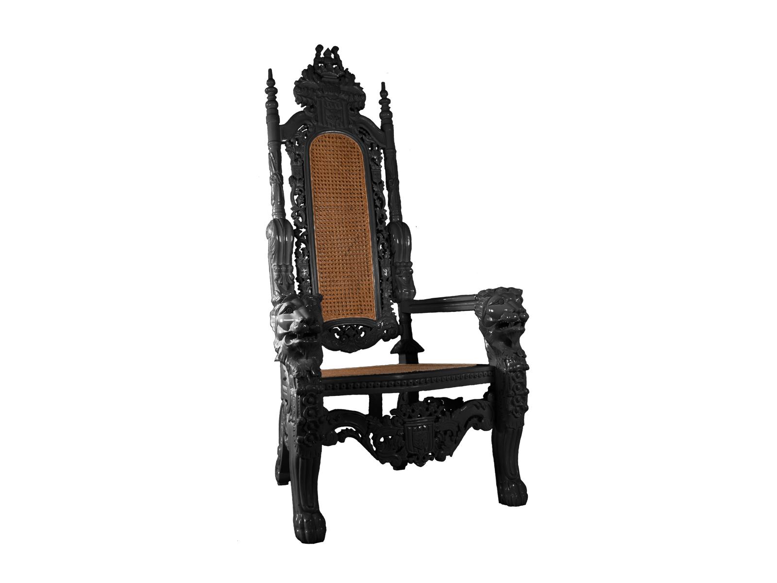Lion Throne Black
