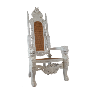 Lion Throne White