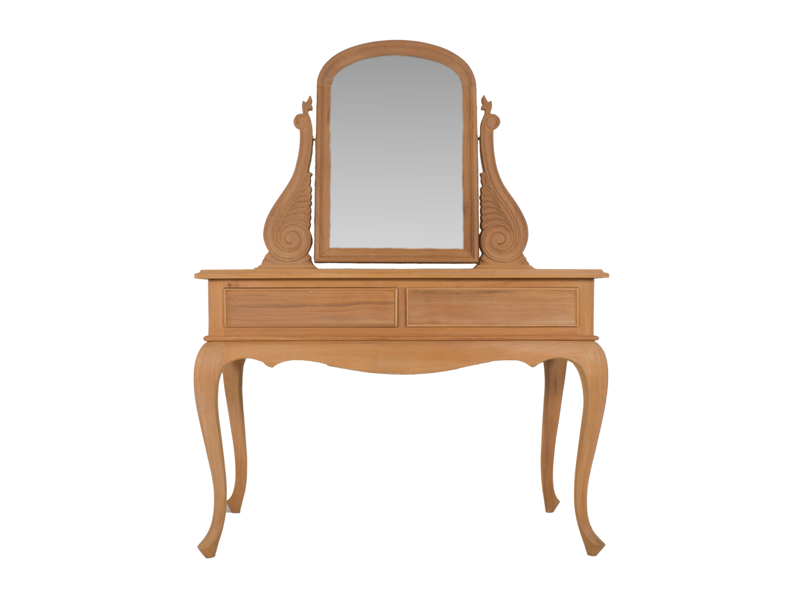 Queen Anne Dressing Table with Mirror