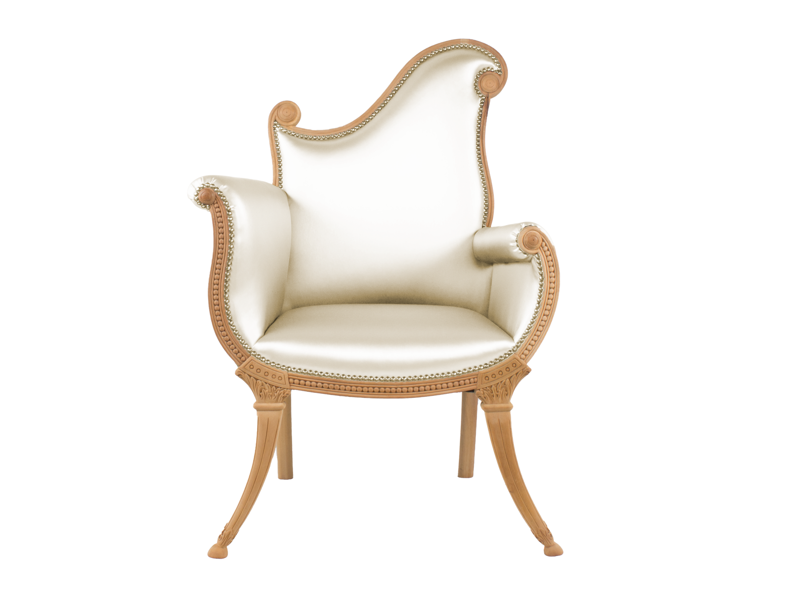 French Scroll Armchair
