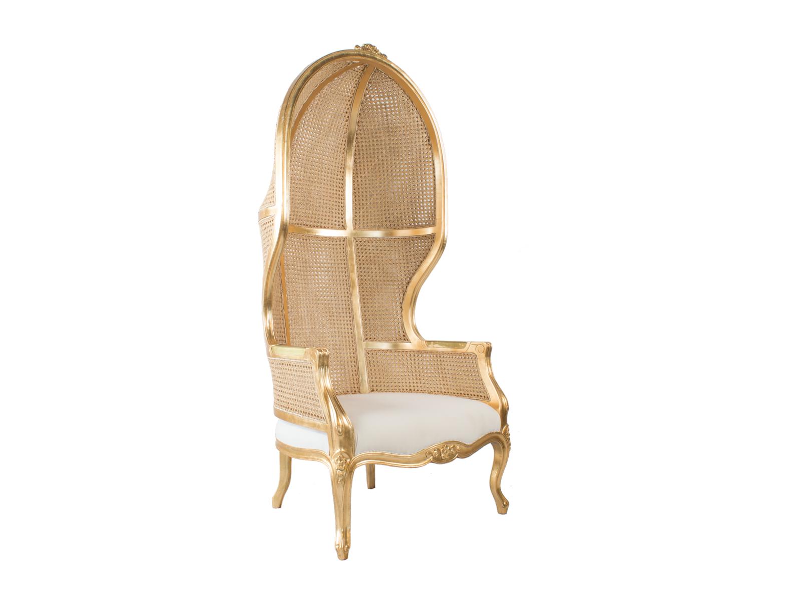 Gold Porters Chair Hidden Mill