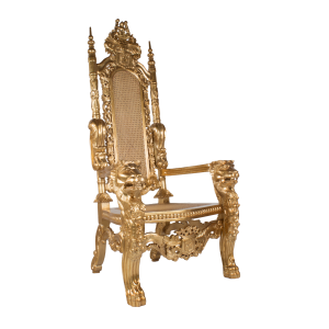 Lion Throne Gold