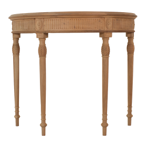 Regency Half Round Hall Console Table