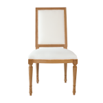 Louis XVI Square Back Chair