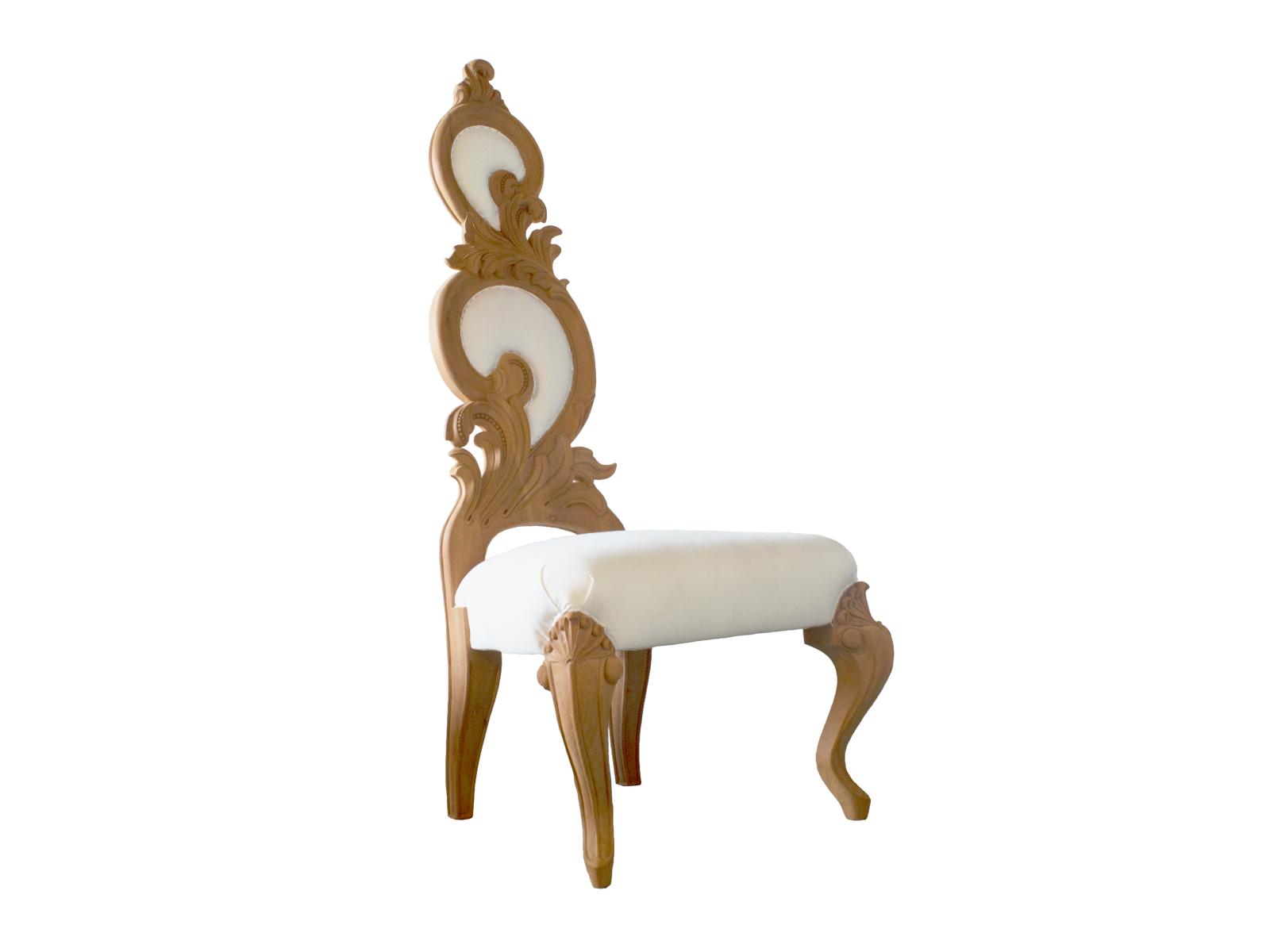 Rococo Throne Chair