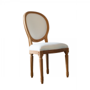 Plain Louis Oval Chair