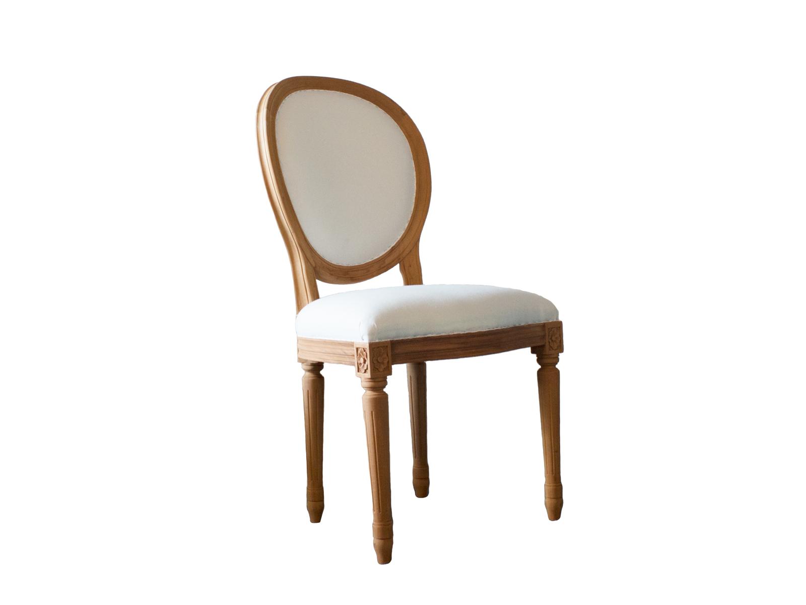 Plain Louis Oval Chair