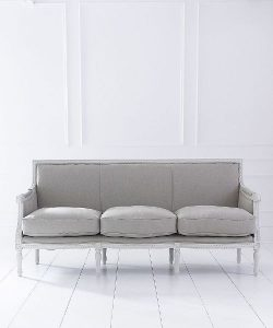 louis three seater sofa