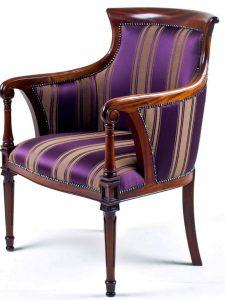 Dutch Tub Chair Purple