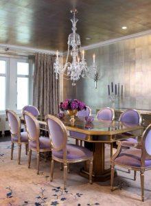 Purple Louis Chairs