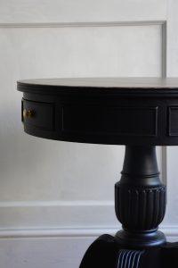 Black Drum Table